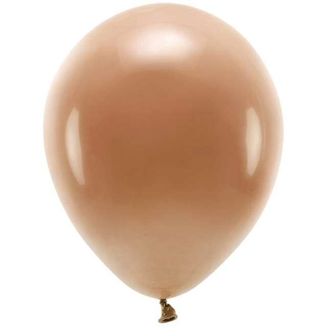 """Balony """"Ekologiczne"""", brązowe, Partydeco, 12"""", 100 szt"""