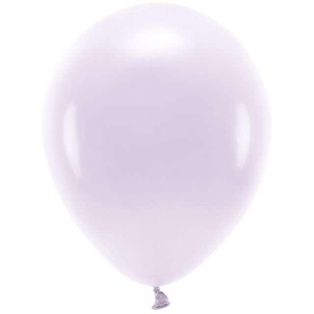 """Balony """"Ekologiczne"""", liliowe, Partydeco, 12"""", 100 szt"""