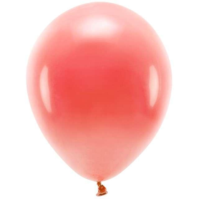 """Balony """"Ekologiczne"""", czerwone, Partydeco, 12"""", 100 szt"""