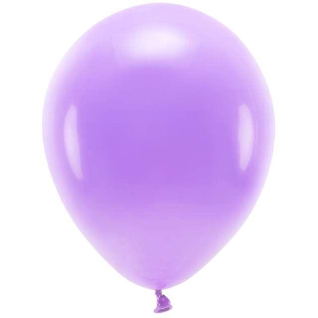 """Balony """"Ekologiczne"""", lawendowe, Partydeco, 12"""", 100 szt"""