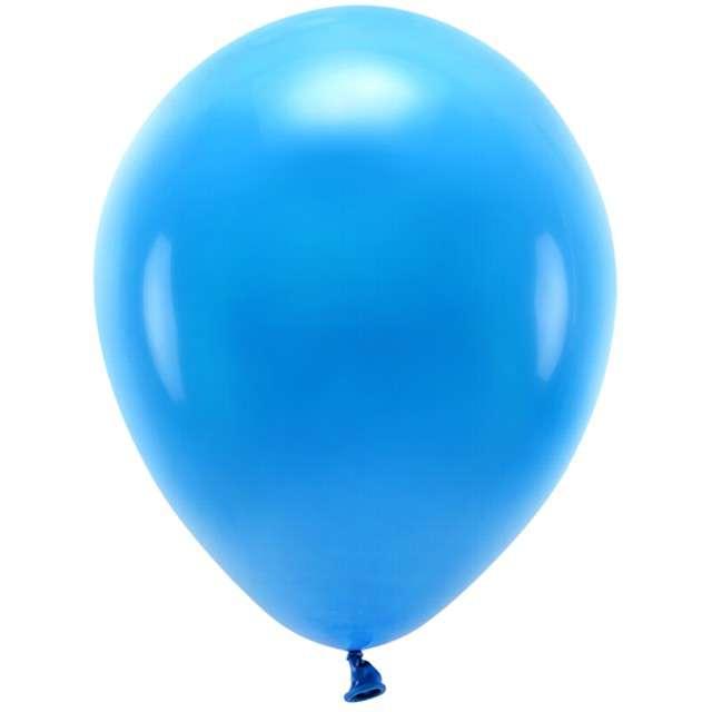 """Balony """"Ekologiczne"""", niebieskie, Partydeco, 12"""", 100 szt"""