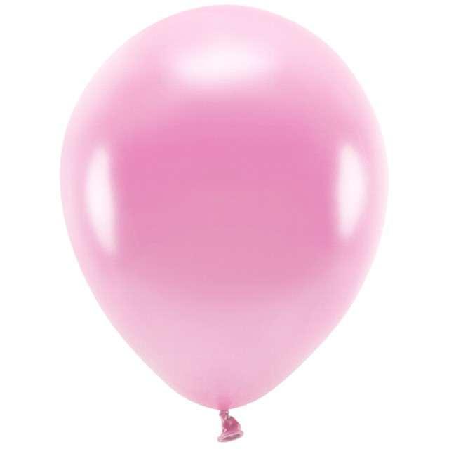 """Balony """"Ekologiczne"""", różowy metalik, Partydeco, 12"""", 100 szt"""