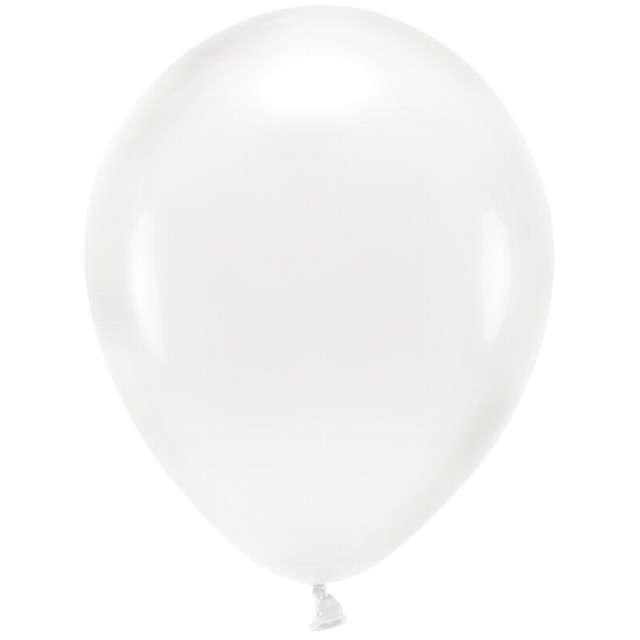 """Balony """"Ekologiczne"""", transparentne, Partydeco, 12"""", 100 szt"""
