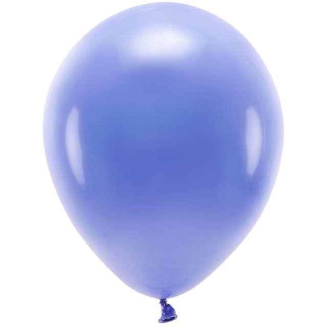"""Balony """"Ekologiczne"""", niebieski, Partydeco, 12"""", 100 szt"""