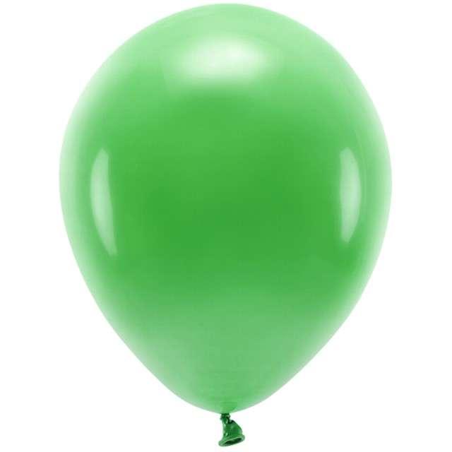 """Balony """"Ekologiczne"""", zielone, Partydeco, 12"""", 100 szt"""