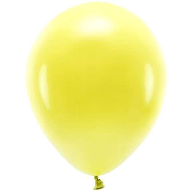 "Balony ""Ekologiczne"", żółte, Partydeco, 12"", 100 szt"