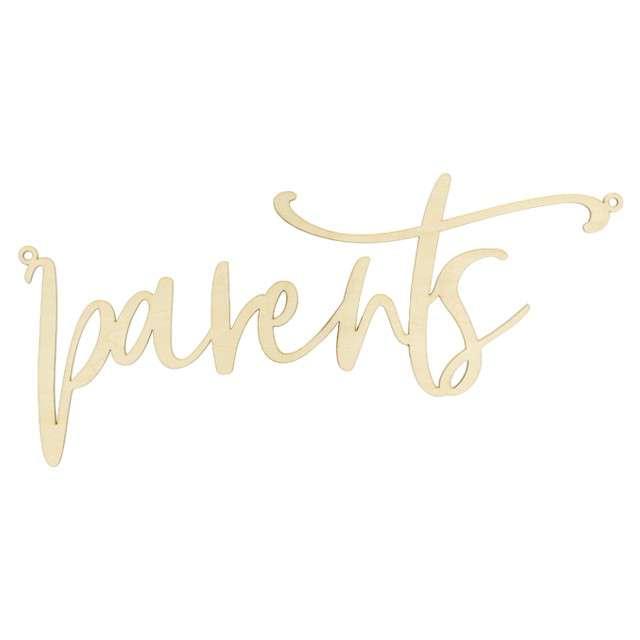 """Zawieszka na krzesło """"Parents"""", naturalne, PatryDeco, 1 szt"""
