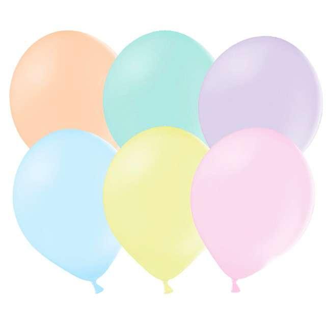 """Balony """"Pastelowe"""", mix, Strong, 12 cm, 100 szt"""