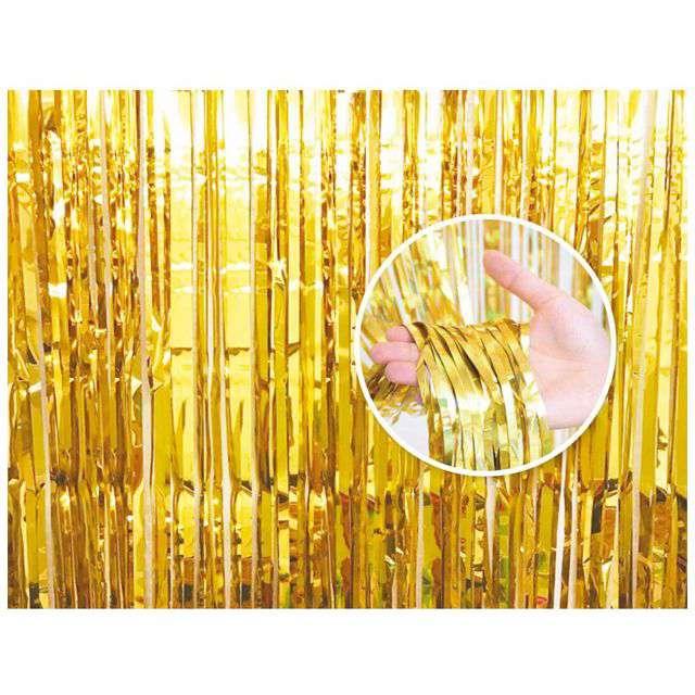 Kurtyna na drzwi Classic złota Godan 240 x 90 cm