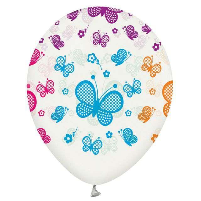 Balony Motylki GODAN 12 5 szt