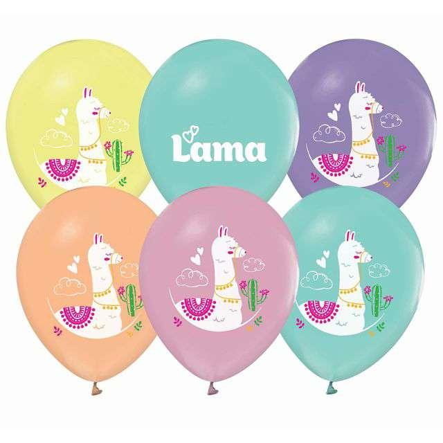 """Balony """"Lamy"""", Godan, 12"""", 5 szt."""