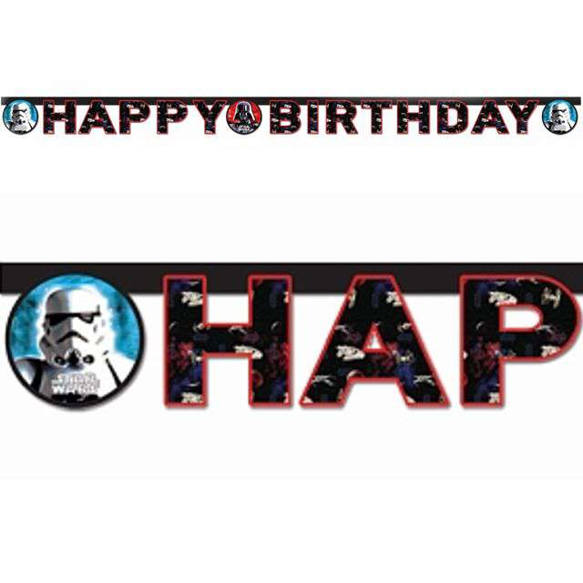 "Baner ""Star Wars - Happy Birthday"", PROCOS, 160 cm"