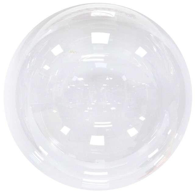 "Balon ""Kula kryształowa"", transparentny, GODAN, 18"" ORB"
