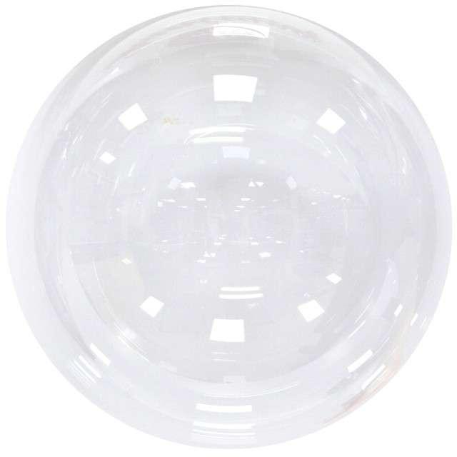 "Balon ""Kula Kryształowa"", transparentny, GODAN, 24"" ORB"