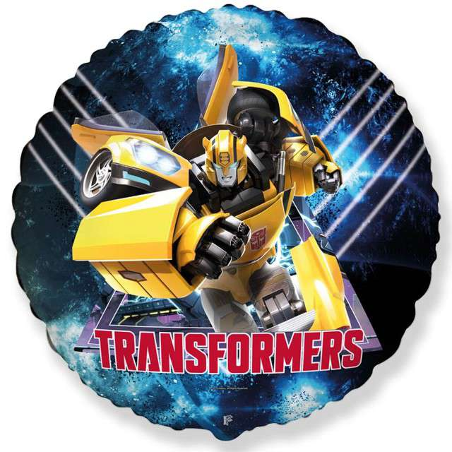 "Balon foliowy ""Transformers"", FLEXMETAL, 18"" RND"