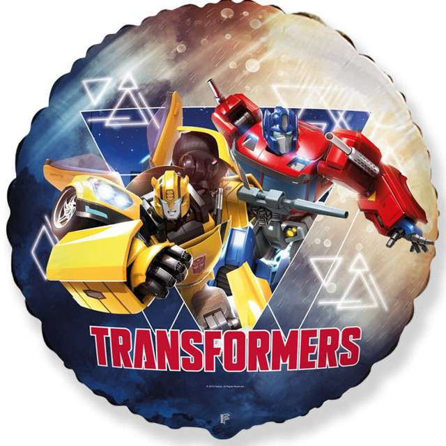Balon foliowy Transformers FLEXMETAL 18 RND