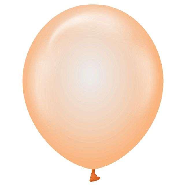 Balony Beauty and Charm pomarańczowe transparentne Godan 12 10 szt