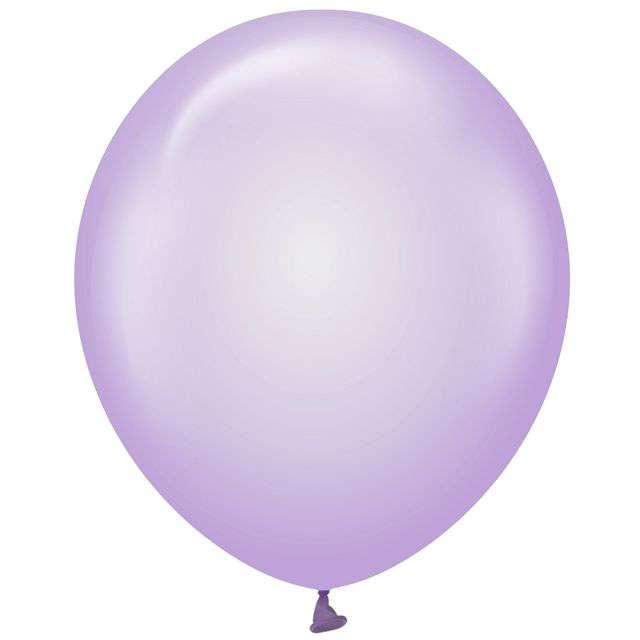 "Balony ""Beauty and Charm"", fioletowe transparentne, Godan, 12"", 10 szt"