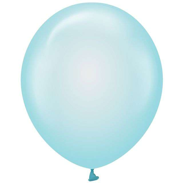 "Balony ""Beauty and Charm"", niebieskie transparentne, Godan, 12"", 10 szt"