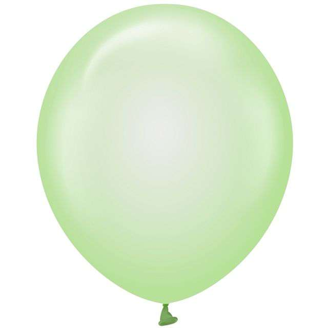 "Balony ""Beauty and Charm"", zielone transparentne, Godan, 12"", 10 szt"