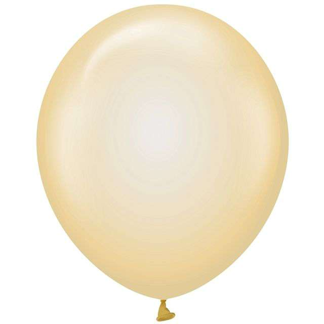 "Balony ""Beauty and Charm"", żółte transparentne, Godan, 12"", 10 szt"