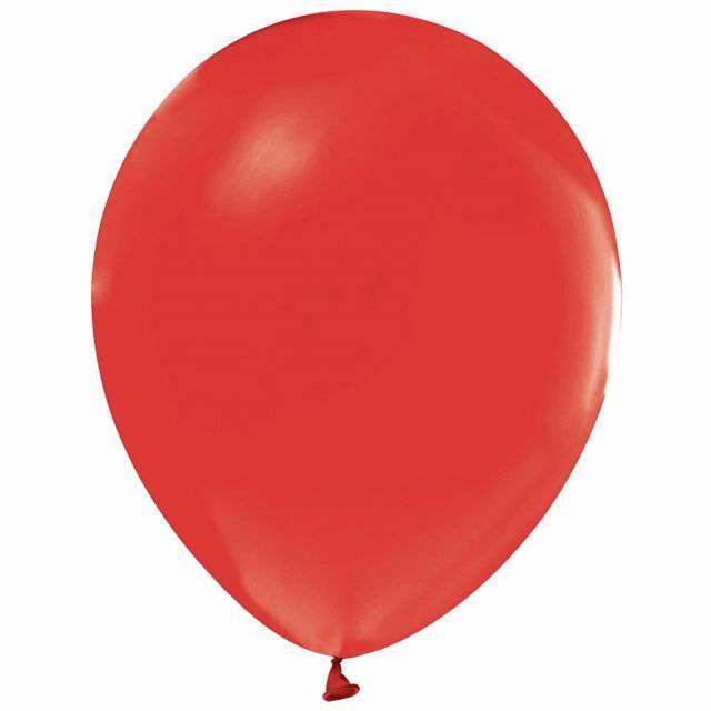 """Balony """"Beauty and Charm"""", czerwone, Godan, 12"""", 10 szt"""