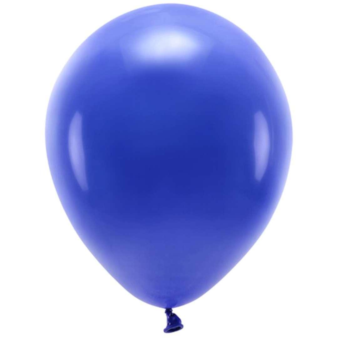 """Balony """"Ekologiczne"""", granatowe, Partydeco, 12"""", 100 szt"""