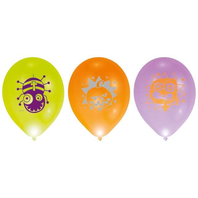 "Balony LED ""Halloween"", mix, 11"", Amscan"