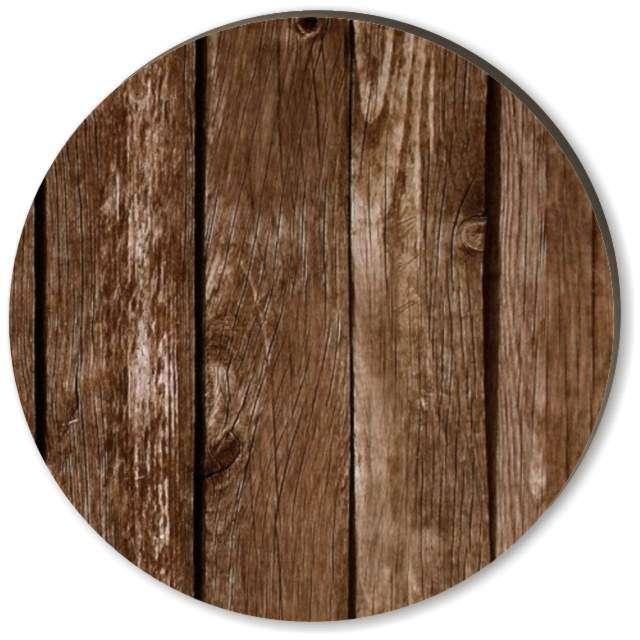 """Podkładki drewniane """"Deski"""", 6 szt"""