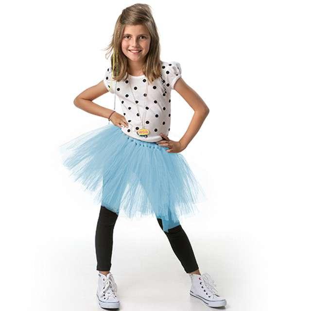 Spódniczka tutu Classic błękitna PartyDeco 30cm