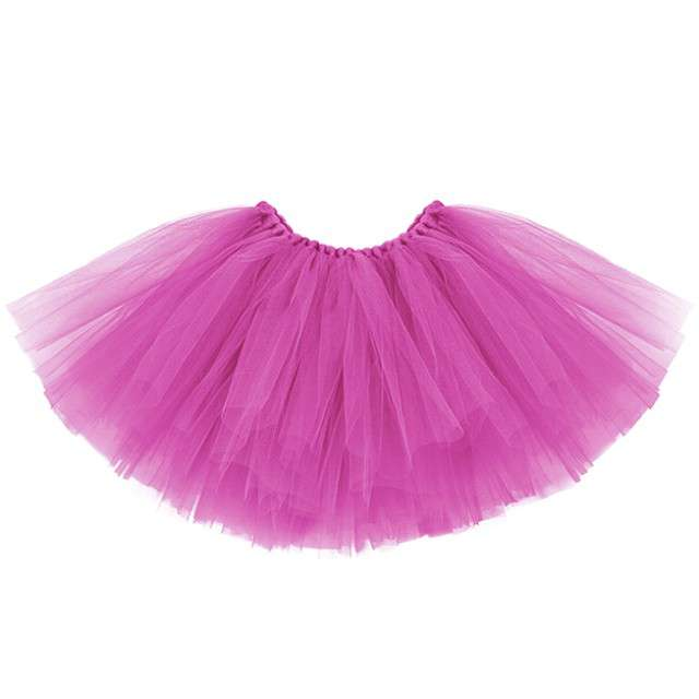 Spódniczka tutu Classic rózowy PartyDeco 25cm