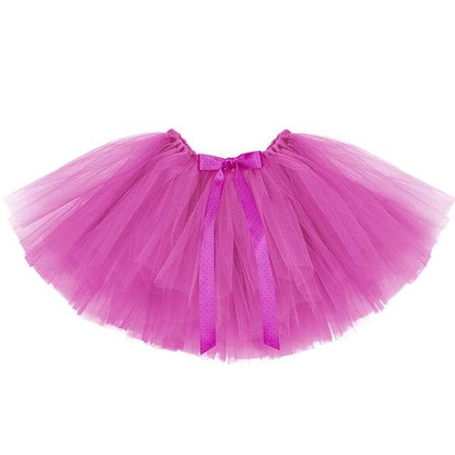 Spódniczka tutu Classic różowy PartyDeco 34cm