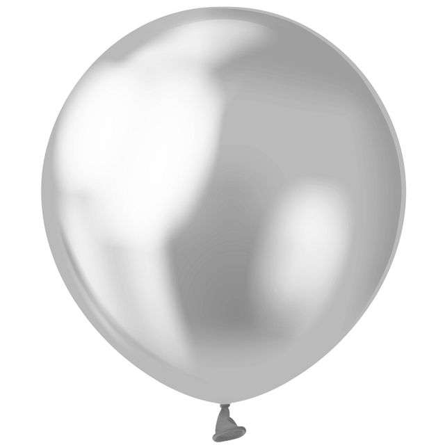 "Balony ""Beauty and Charm"", srebrne platynowe, GODAN, 5"", 20 szt"