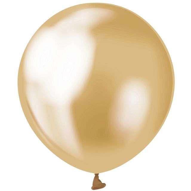 Balony Beauty and Charm złote platynowe GODAN 5 20 szt