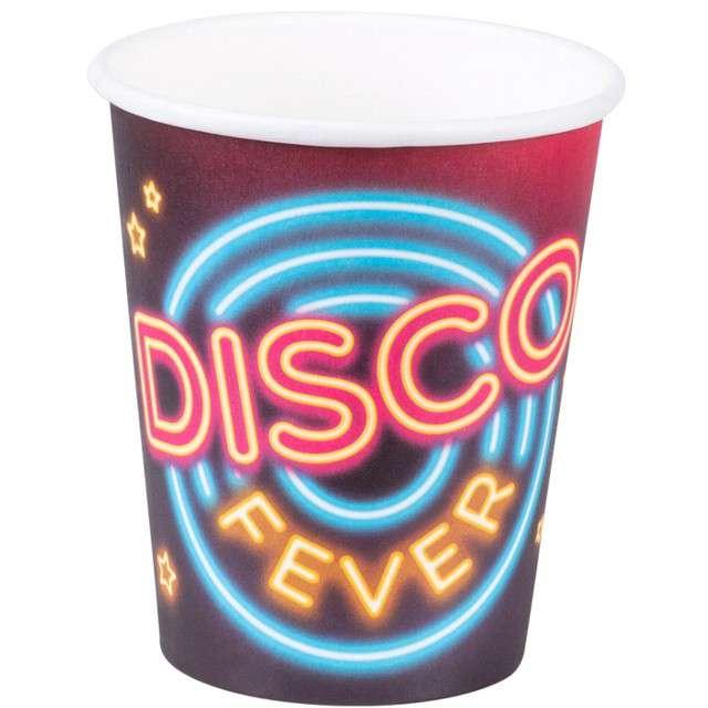 """Kubeczki papierowe """"Disco"""", BOLAND, 250 ml, 6 szt"""
