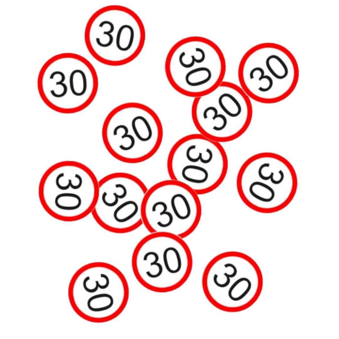 "Konfetti ""Traffic - 30 urodziny"", Top Ten, 15g"