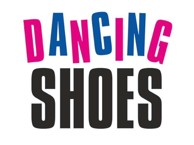 "Naklejki na buty ""Dancing Shoes"", PartyDeco, 2 szt"