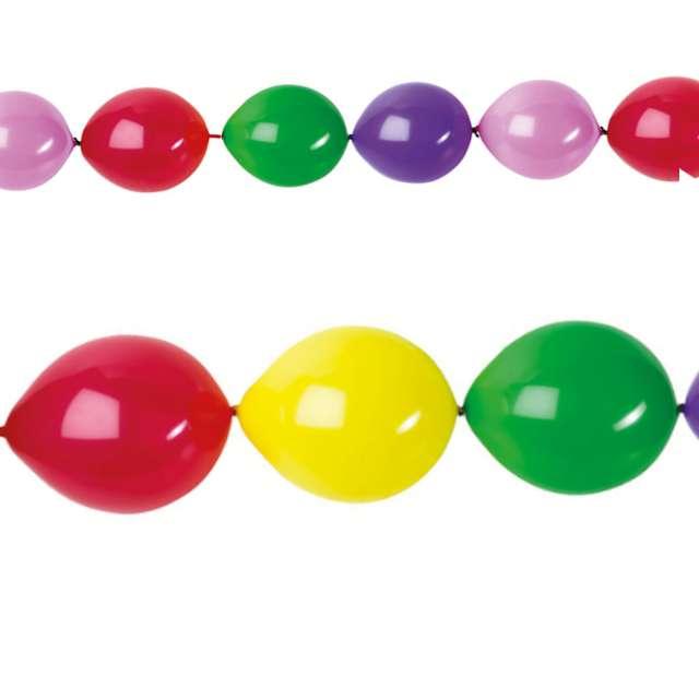 Balony Girlanda mix Amscan 11 10 szt