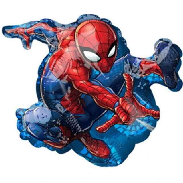"""Balon foliowy """"Spider-Man"""", AMSCAN, 10"""", SHP"""