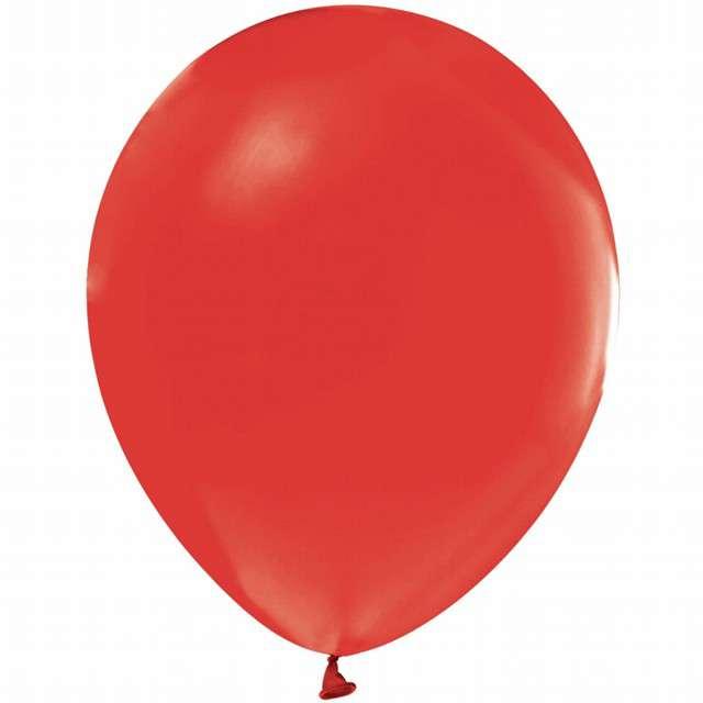 """Balony """"Beauty and Charm"""", czerwony pastelowy, GODAN, 12"""", 50 szt."""