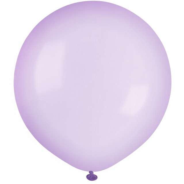 """Balony """"Krystaliczne"""", lawendowe, GEMAR, 19"""", 25 szt"""