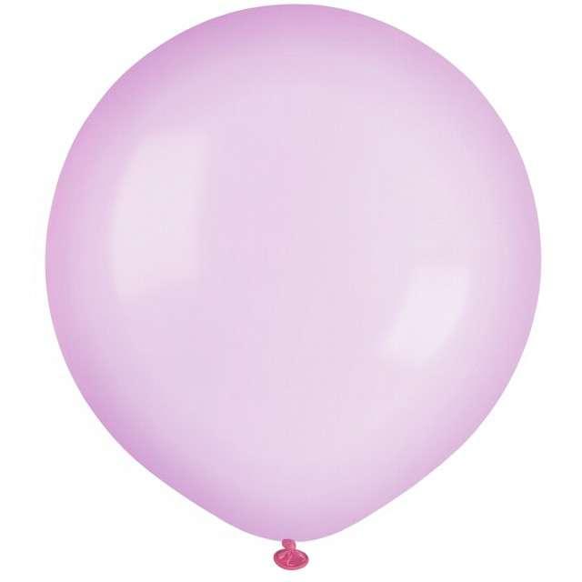 """Balony """"Krystaliczne"""", różowe, GEMAR, 19"""", 25 szt"""