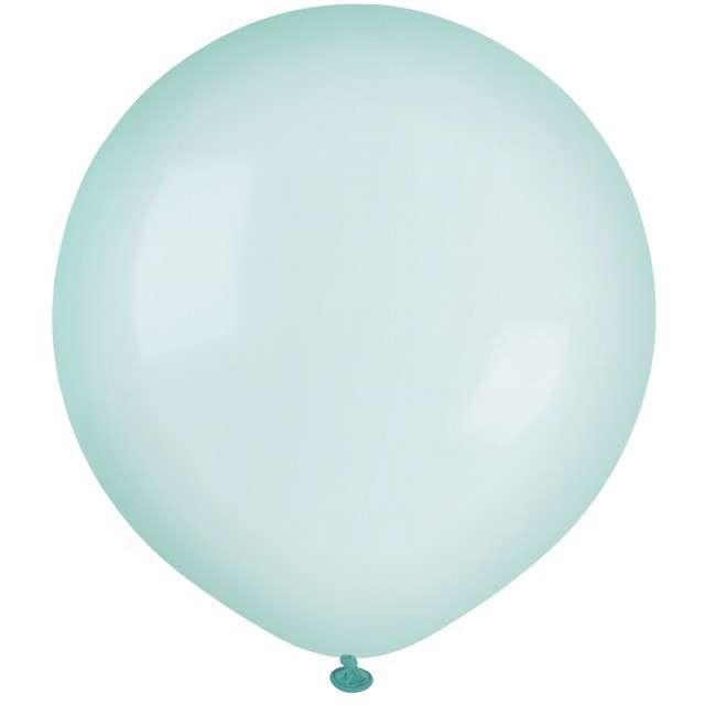 """Balony """"Krystaliczne"""", zielone, GEMAR, 19"""", 25 szt"""