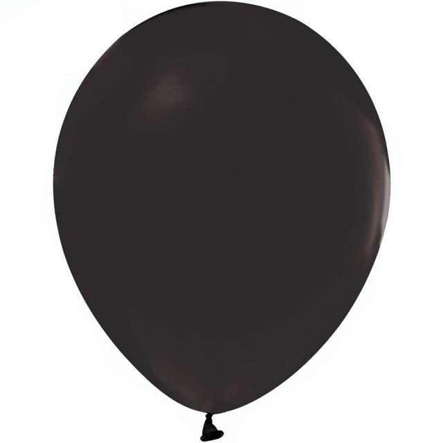 """Balony """"Beauty and Charm"""", czarny pastelowy, GODAN, 12"""", 50 szt."""
