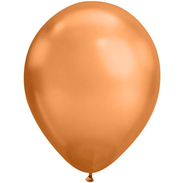 """Balony """"Chromowane"""", miedziany, Qualatex, 11"""", 25 szt"""
