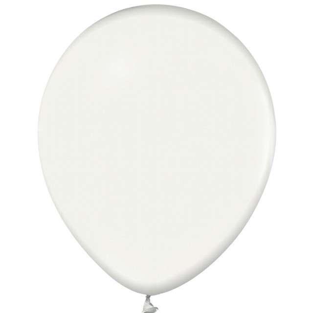 "Balony ""Beauty and Charm"", biały metalik, GODAN, 12"", 50 szt."
