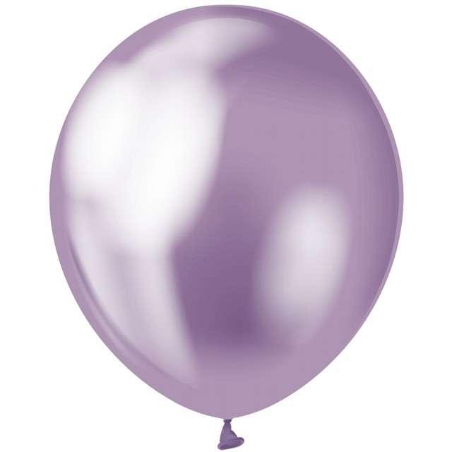 """Balony """"Beauty and Charm"""", fioletowy platynowy, GODAN, 12"""", 50 szt."""