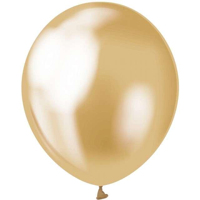 """Balony """"Beauty and Charm"""", złoty platynowy, GODAN, 12"""", 50 szt."""
