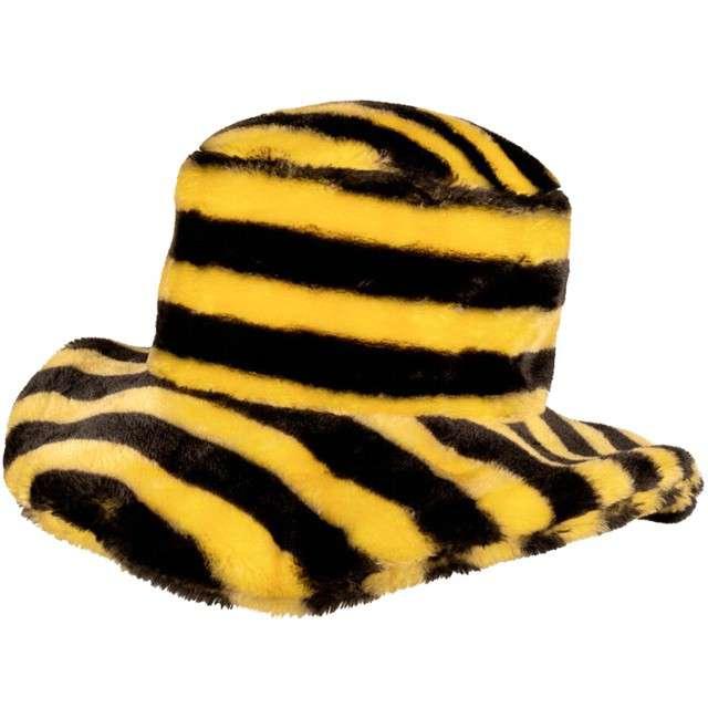 """Kapelusz """"Futrzana Pszczoła"""", żółty, Boland"""