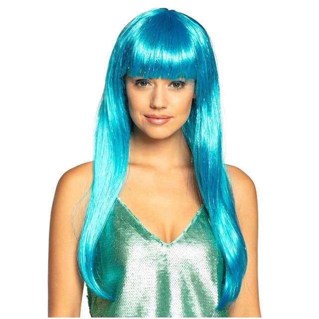 "Peruka party ""Syrena Laguna"", niebieska, Boland"